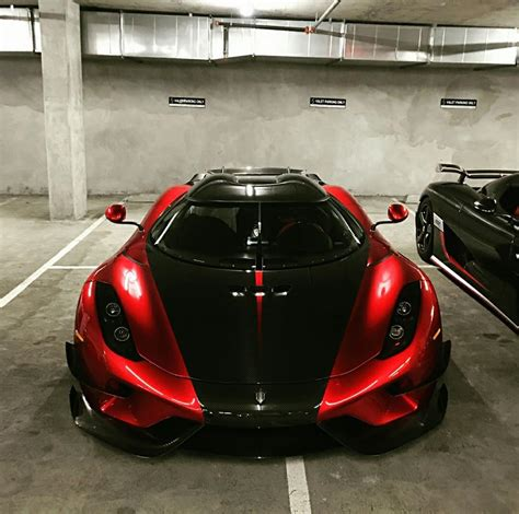 red koenigsegg regera first us spec koenigsegg regera shows extreme aero pack