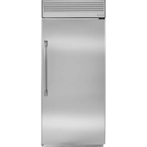 ge monogram zirpnxarh stainless steel  built   refrigerator payless appliances