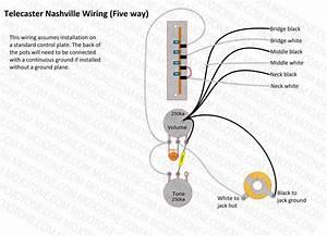 5 Way Switch Wiring Diagram Telecaster