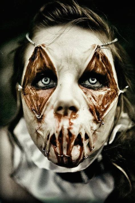 creepiest halloween makeup ideas