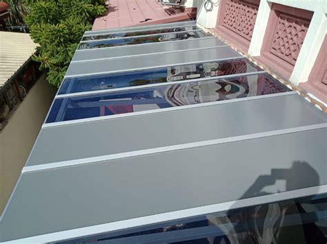 aluminum composite acp awning malakowes