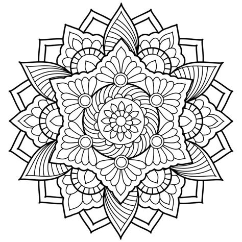 free mandala coloring pages for adults free printable mandalas coloring pages adults printable