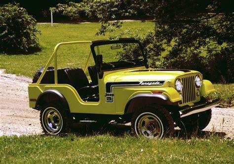 Jeep Heritage 1972 1983 Jeep Cj 5 Renegade The Jeep Blog