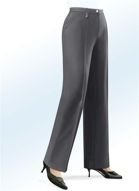 Hosen Von Bader In Grau Für Damen