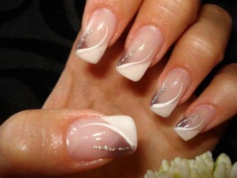 deco ongle blanche deco ongle avec blanche