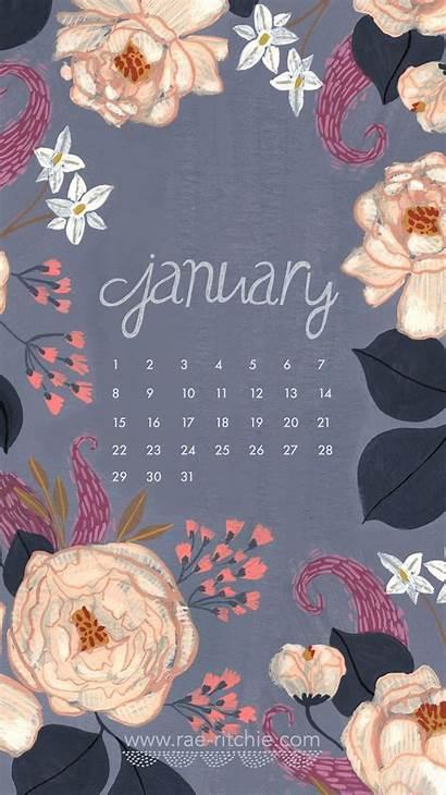 January Calendar Background Desktop Wallpapers Backgrounds Winter