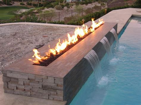 Trendy Outdoor Gas Fire 2 Remote Control Pit New Regency