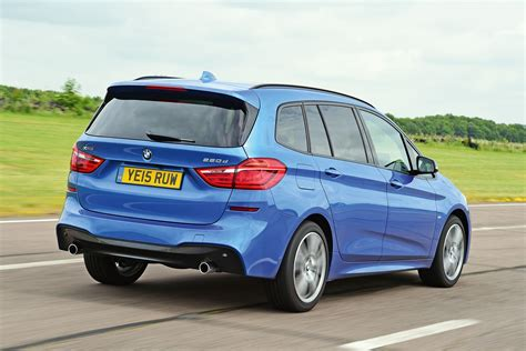 bmw 218 gran tourer bmw 2 series gran tourer 2015 uk pictures auto express