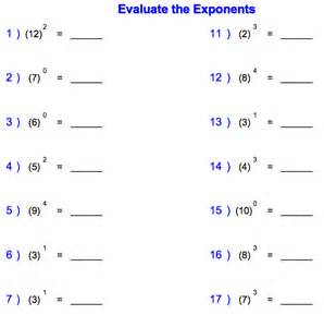 factor worksheets 4th grade collections of math exponents worksheets easy worksheet ideas