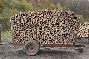 Bois De Chauffage Bricoman : bois de chauffage sur une remorque image stock image ~ Dailycaller-alerts.com Idées de Décoration