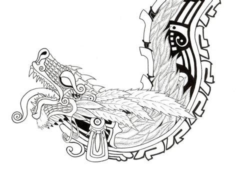 Best 25+ Aztec Tattoo Designs Ideas On Pinterest