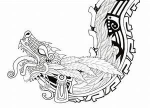 20 best Aztec Dragon Tattoo Designs images on Pinterest ...