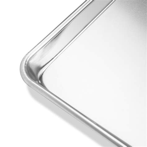 cookie sizes baking sheets trays aluminum assorted jelly roll professional