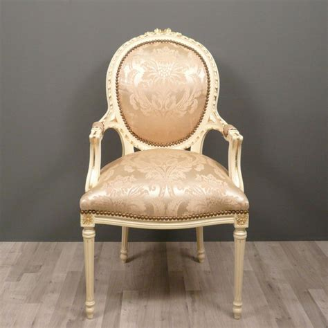 chaises medaillon medallion armchair louis xvi baroque chairs