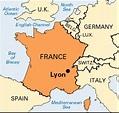 LYON FRANCE MAP - Recana Masana
