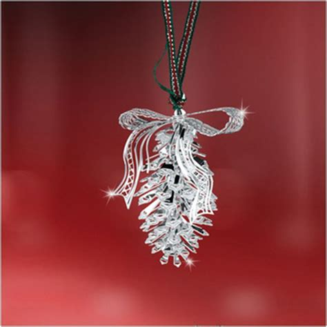 newbridge silverware christmas pine cone celtic embrace