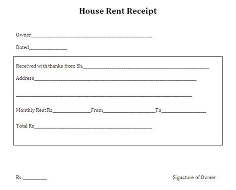 brilliant house rent receipt format vatansun