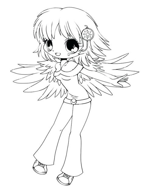 32 Chibi Girl Coloring Pages Image Ideas Strava