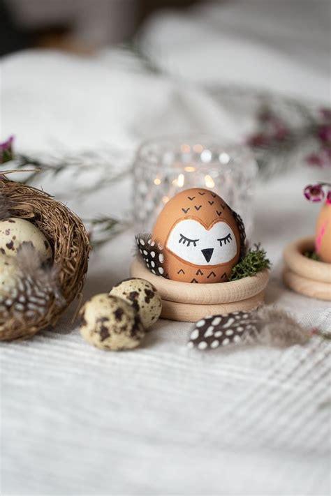 Ostereier Bemalen 7 Kreative Diy Ideen by Ostereier Als Tiere Tierische Ostern Ostern Diy Deko