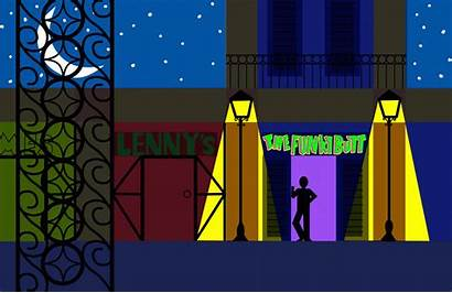 Animated Composition Graphic Street Orleans Final Austin