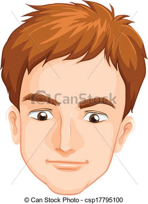 males face illustration   males face   white background