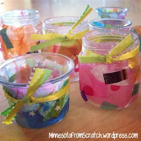 Glass Candle Holders Diy Perserving Jar Satine Paint by Diy Candle Holders For Minnesotafromscratch