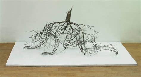 wire art sculptures ready  emphasize  space
