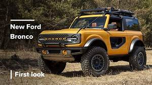 2021 Ford Bronco - First Look - YouTube