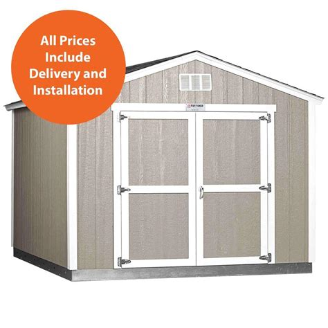 home depot storage sheds installed tuff shed installed tahoe 10 ft x 12 ft x 8 ft 10 in