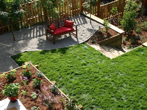 sloping yard solutions chiplan landscaping ideas sloped side yard