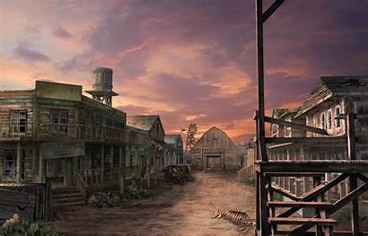 Town West Wild Ghost Wallpapers Background Backgrounds