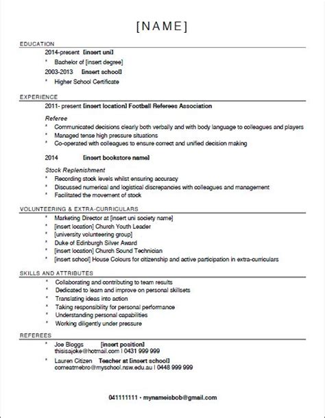 need help with my resume