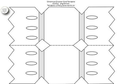 cracker template printable cracker card template cu4cu cup334433 99 craftsuprint
