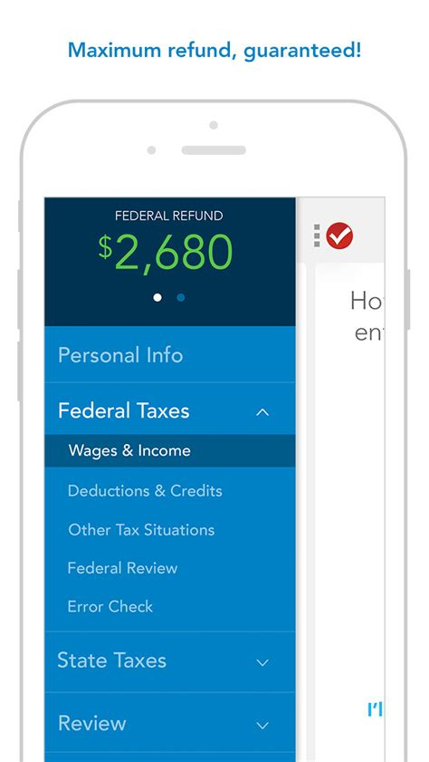 Turbotax Tax Preparation  Complete And Efile Your 2015