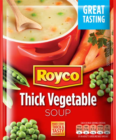 types of vegetable soups royco types packet soups