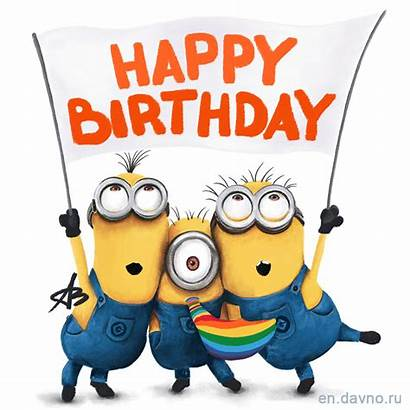 Birthday Minions Happy Card Despicable Cards Bday