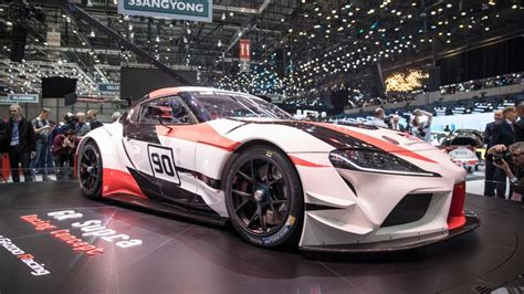toyota supra headed  nascar series roadshow