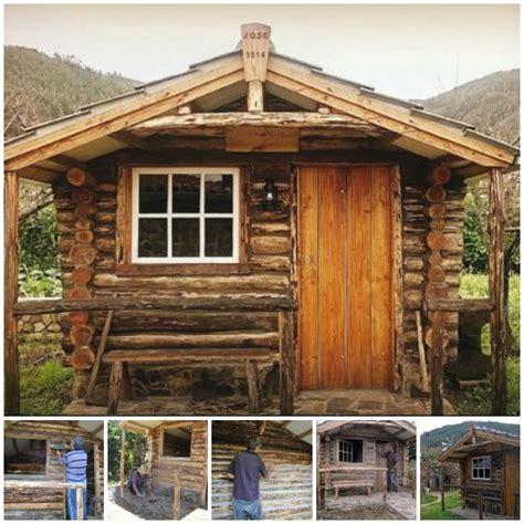 diy log cabin diy step by step log cabin building plans