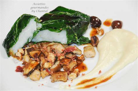 blette cuisine recette de cabillaud recette de poisson