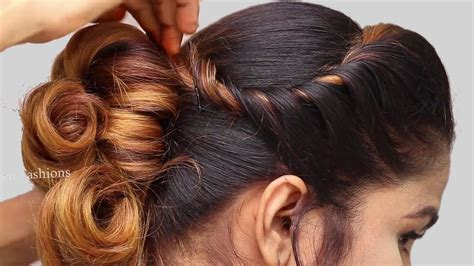 latest party hairstyle   girls hair style girl