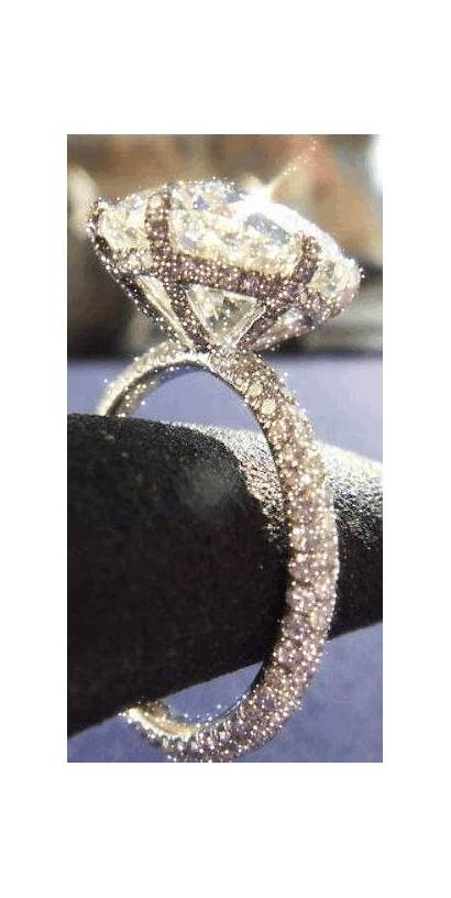Diamond Ring Sparkling Jewelry Rings Gifs Engagement