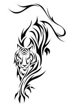 23 more tattoo ideas tigers tigers tat ideas tigers drawing tattoo | designs | Tribal tiger