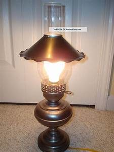 Electric Lantern Table Lamp