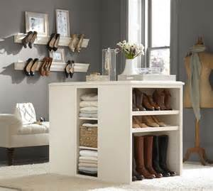 sutton closet island pottery barn from pottery barn