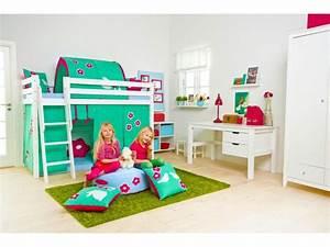 Lit Sureleve Enfant : lit mezzanine 1 place avec bureau clara en pin massif so nuit ~ Teatrodelosmanantiales.com Idées de Décoration