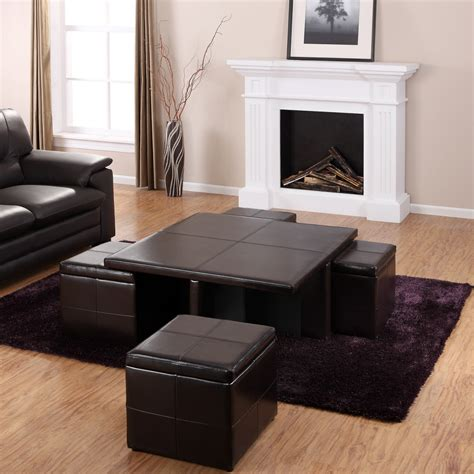 living room with ottoman furniture beautiful coffee table ottoman sets for living