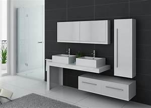 Modèle Salle De Bain : meuble de salle de bain complet dis9350b meuble de salle ~ Voncanada.com Idées de Décoration