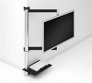Tv 85 Zoll : frei schwenkbare tv wandhalterung bis 85 zoll ber eck montage ~ Watch28wear.com Haus und Dekorationen