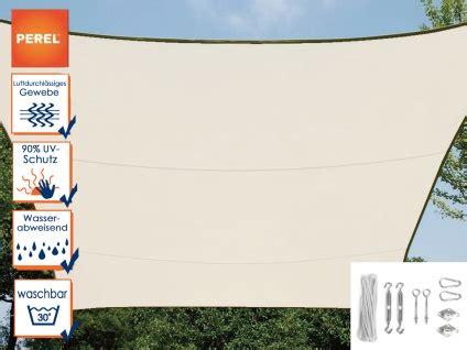 sonnensegel mit ösen sonnensegel rechteckig 2x3m creme mit 214 sen f 252 r balkon