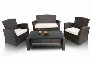 salon de jardin en resine tressee copacabana With meubles de jardin en resine tressee